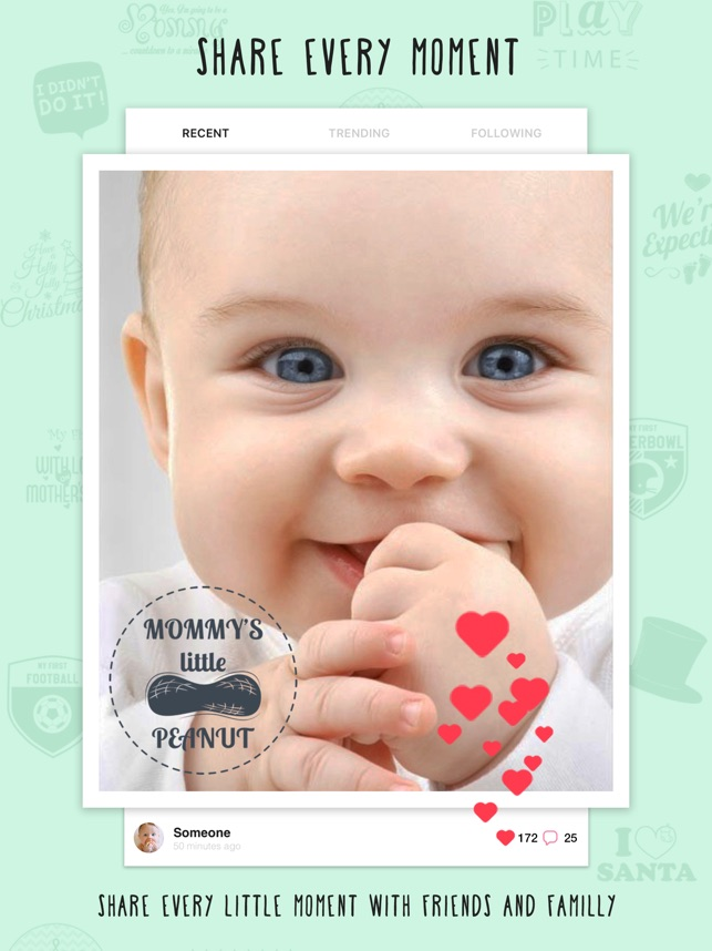 Pregnancy announcement -Giggly on the App Store