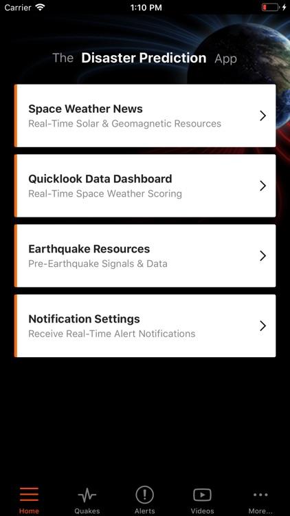Disaster Prediction App