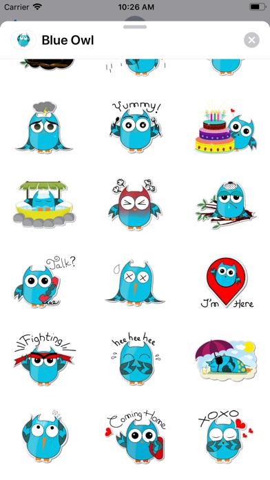 Blue - Owl screenshot 3