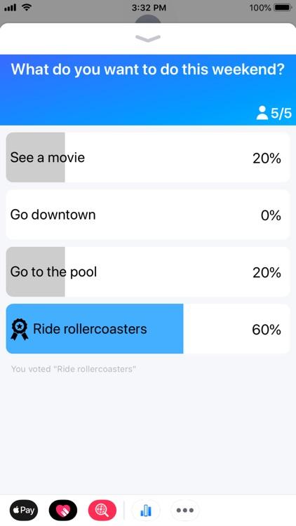 Tally - Polls for iMessage screenshot-5