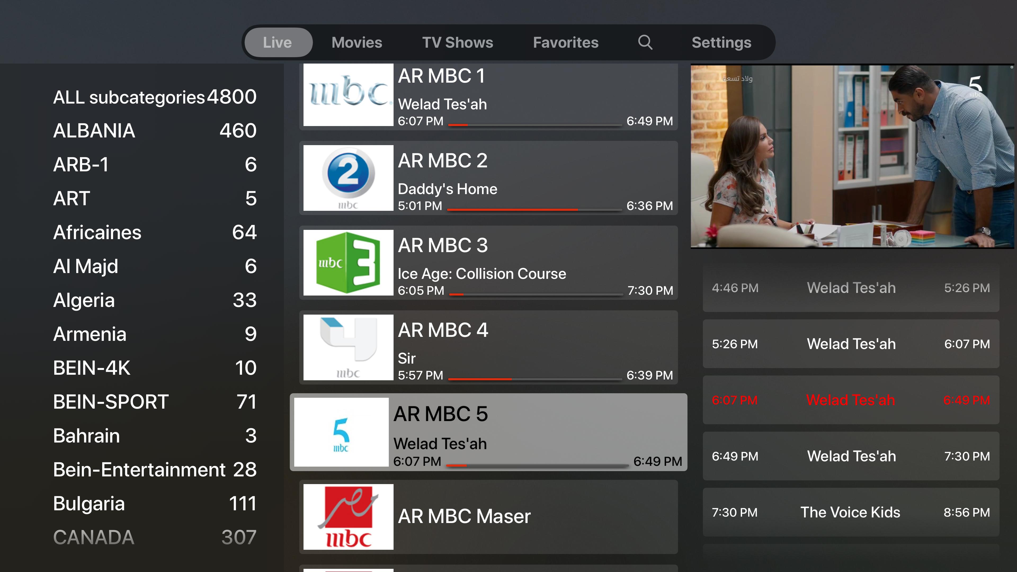iProTV for iPtv & m3u content screenshot 19