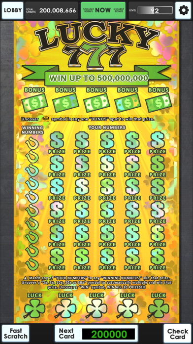 Lucky Lottery Scratchers screenshot 17
