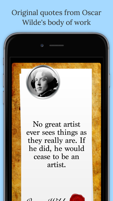 Screenshot #1 pour Texts From Oscar Wilde