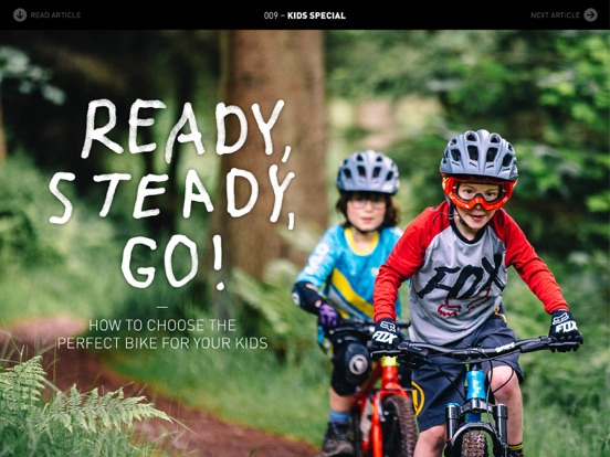 Enduro Mountainbike Magazine screenshot