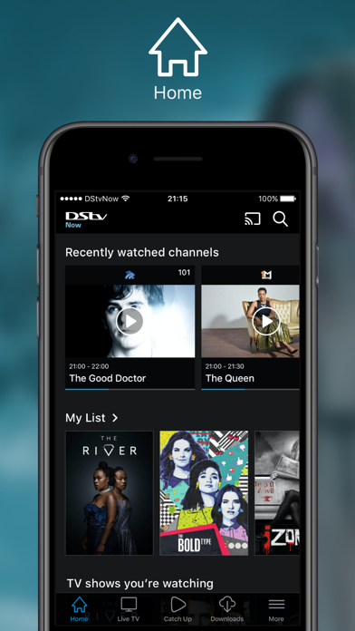 download DStv Now: Watch live on the go for PC image 1