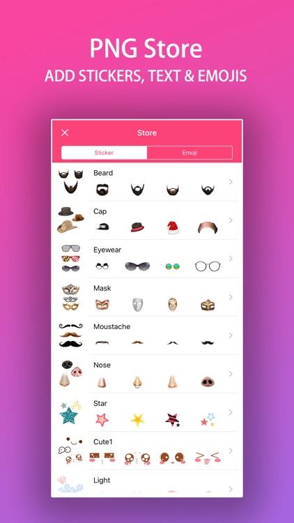 PNG Store : Face Photo Editor screenshot-8