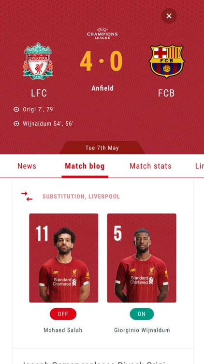 The Official Liverpool FC App screenshot-5