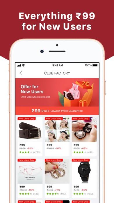 Club Factory - Unbeaten Price screenshot two