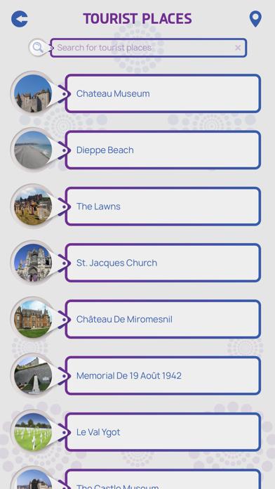 Dieppe City Guide screenshot 3