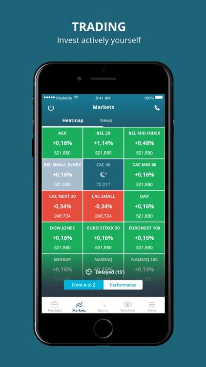 Keytrade Bank Luxembourg. screenshot-5