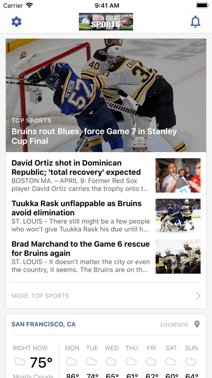 Boston Headline Sports screenshot-0