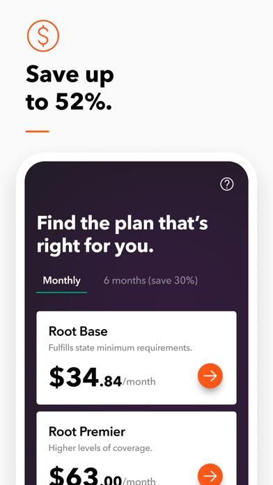 ROOT - Car Insurance screenshot