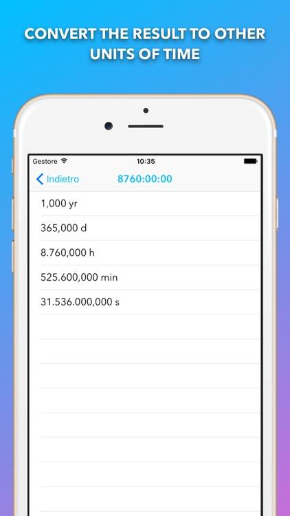 Time Calc Pro - Calculator screenshot-3