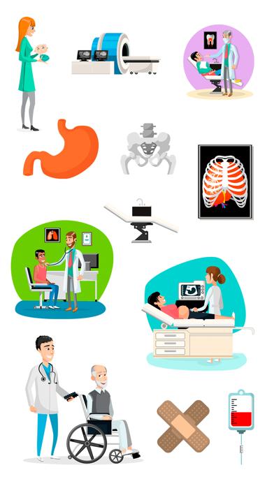 点击获取Medical Emoji and Sticker