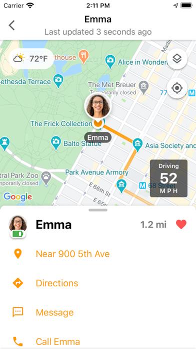 Find Family, Friends, Phone Screenshot