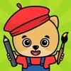 2歳、3歳、4歳の子供向けお絵かき・色塗り・落書き知育アプリ