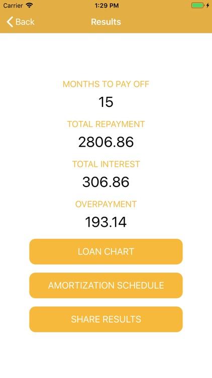 Credit Card Debt Payoff Calc screenshot-5