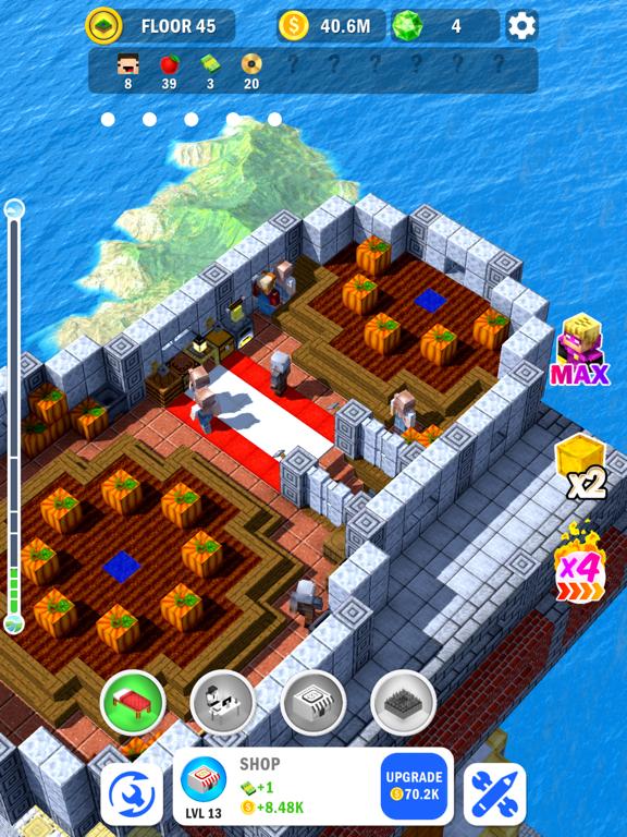 Tower Craft 3D - Idle Building screenshot 10
