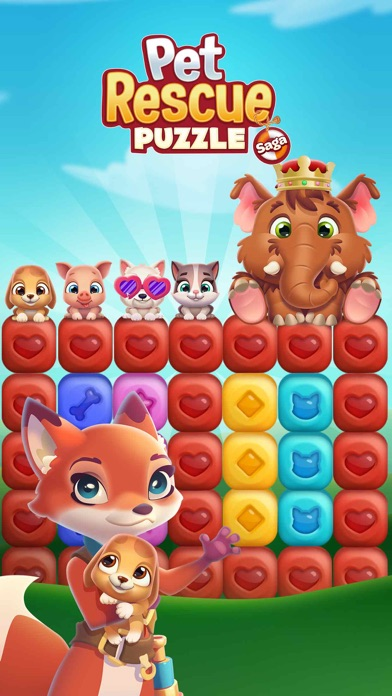 Screenshot for Pet Rescue Puzzle Saga in Korea App Store