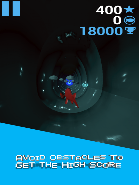 Fish Tube Dash screenshot 2