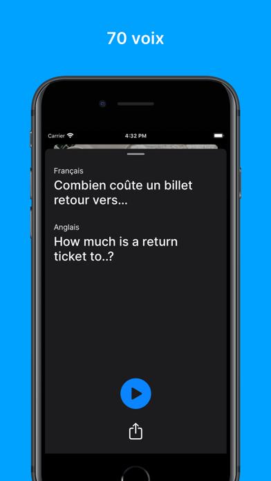 Screenshot #2 pour Traducteur Professionnel