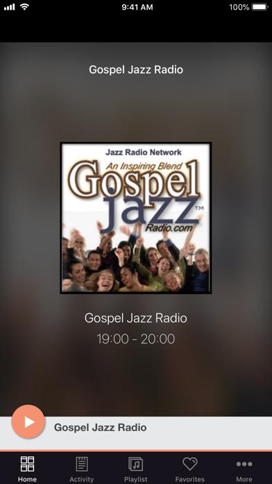 Gospel Jazz Radio screenshot one