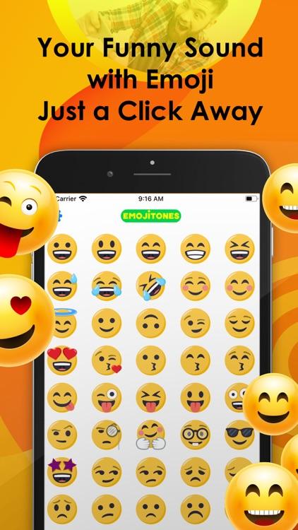 Emoji Tones - emoji with sound screenshot-0