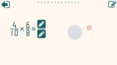 Multiplying Fractions Trainer Screenshots