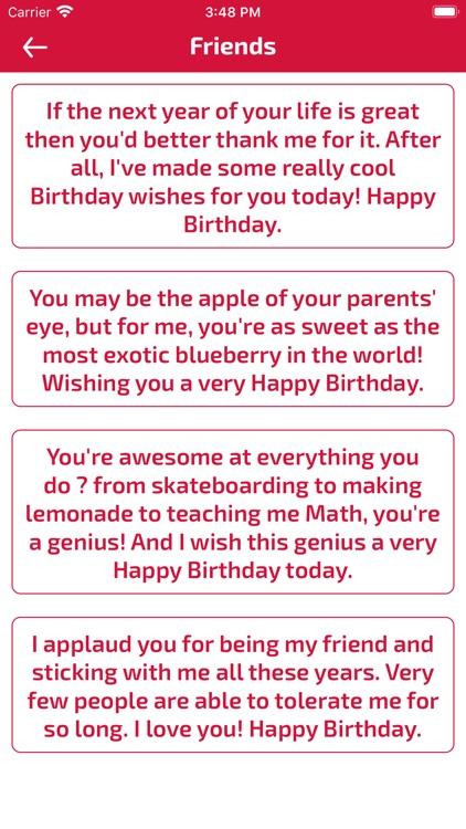 Birthday Wishes & Cards screenshot-8