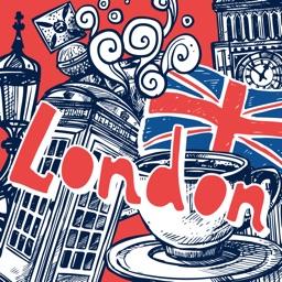 Love London Doodle Stickerpack