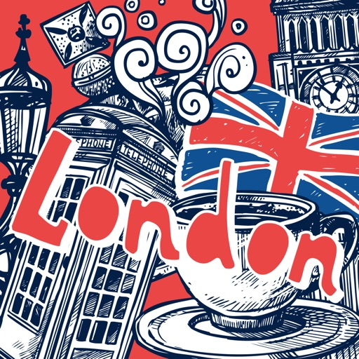 Love London Doodle Stickerpack icon
