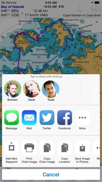 i Sail GPS NZ–NZMariner Charts screenshot-5