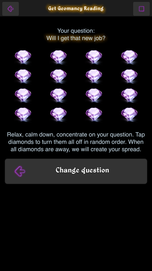 The Magic of Geomancy App 截图