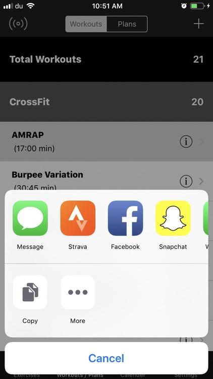 +1 Workout screenshot-4