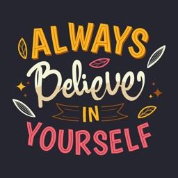 Motivational Quotes Sticker