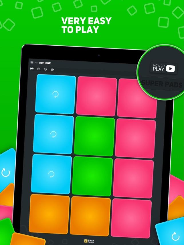 SUPER PADS - Become a DJ Screenshot