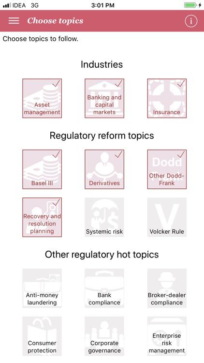 PwC's Regulatory Navigator screenshot-3