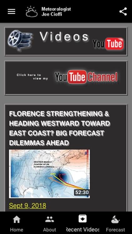 Meteorologist Joe Cioffi