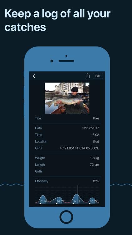 Fishing Calendar, Solunar screenshot-3