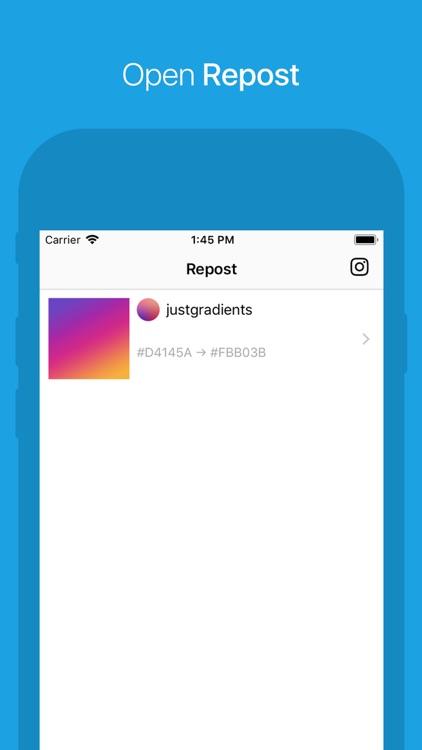 Repost for Instagram Plus screenshot-3