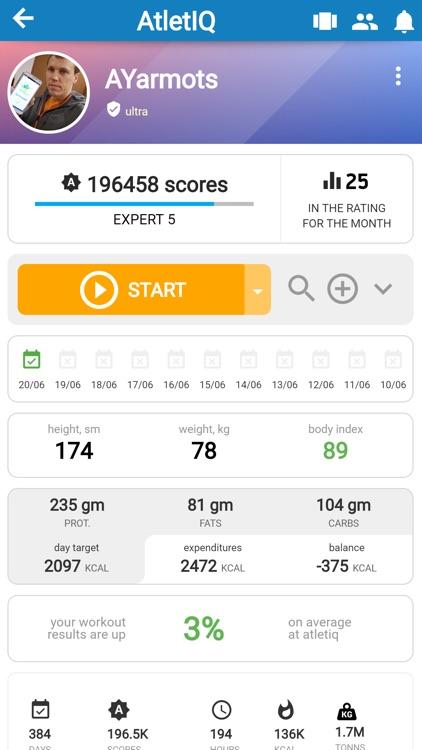 AtletIQ — mobile trainer screenshot-0