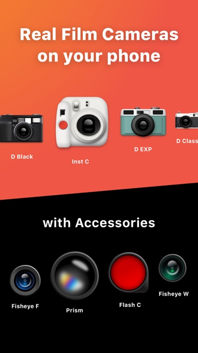 Screenshot for Vintage Camera - Dazz in Philippines App Store