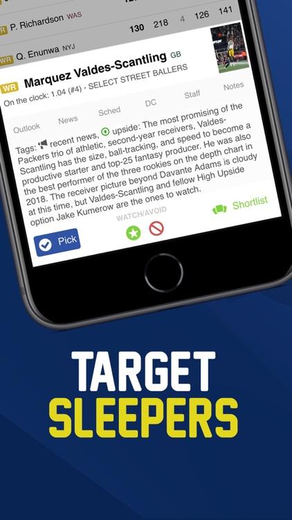 Fantasy Football Draft FBG screenshot-7