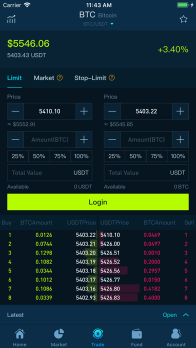 CoinTiger-Crypto Exchange - 窓用