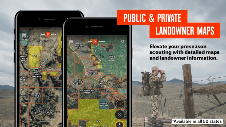 onX Hunt: #1 GPS Hunting Map screenshot-0