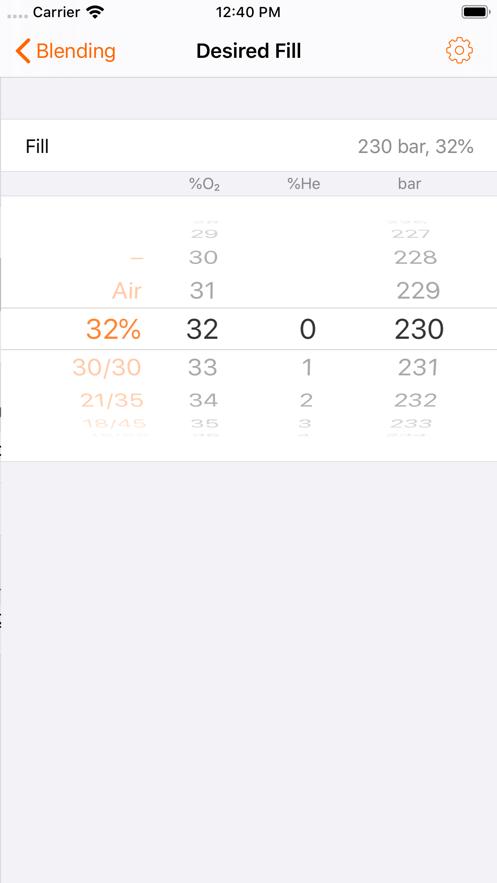 Gas Manager App 截图