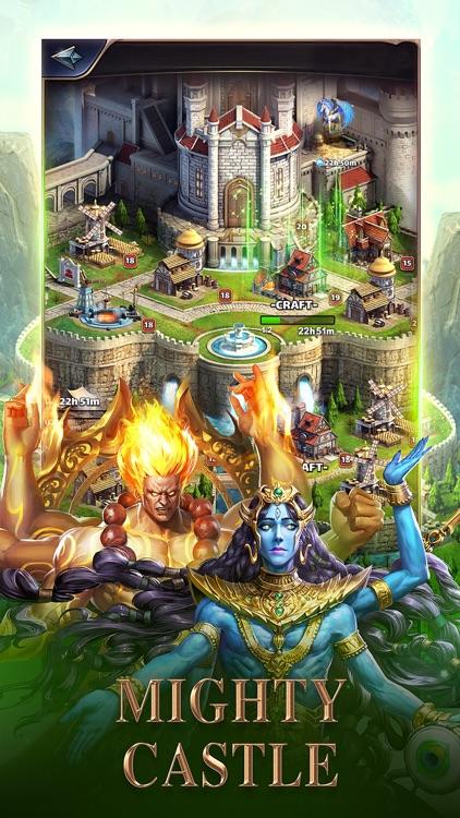 MythWars & Puzzles:RPG Match 3 screenshot-4