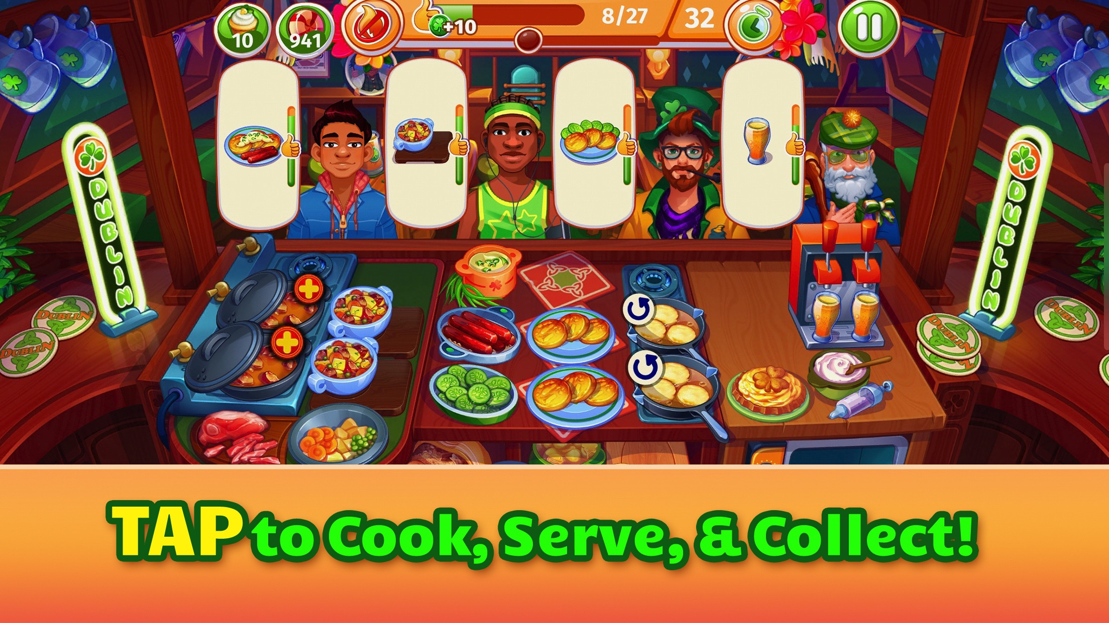 Cooking Craze- Restaurant Game Screenshot