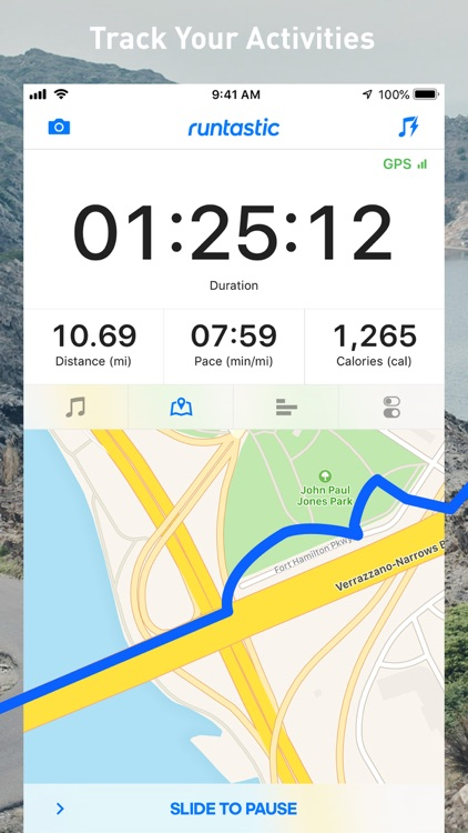 Runtastic Running Tracker PRO screenshot-1