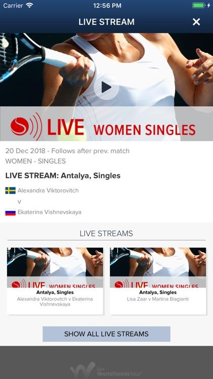 ITF Live Scores screenshot-4